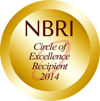 National Business Research Institute Circle of Excellence Recipient 2014